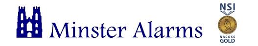 Minster Alarms Logo